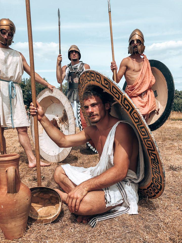 Hoplites au repos