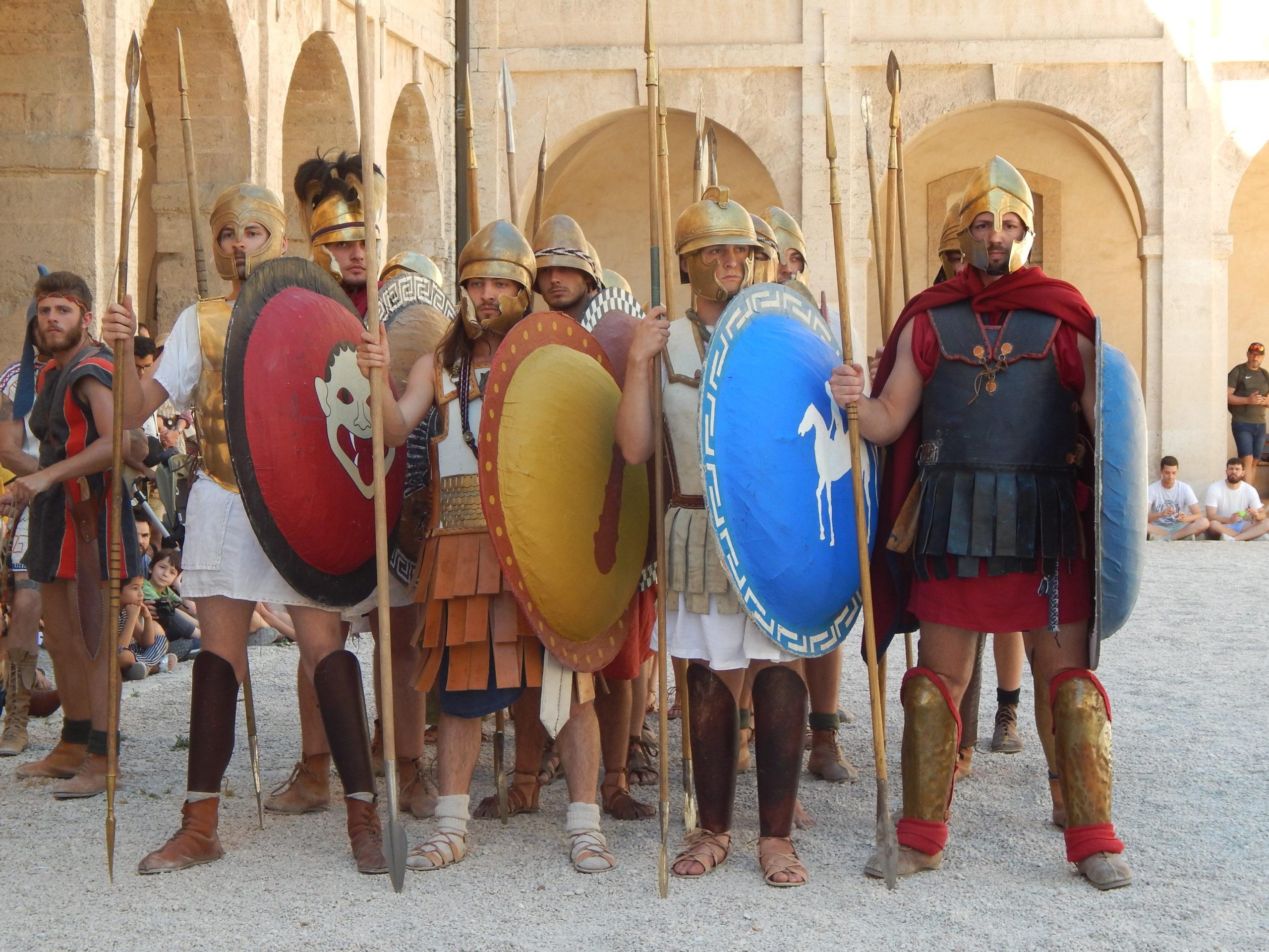 Atelier - la guerre en Grèce antique