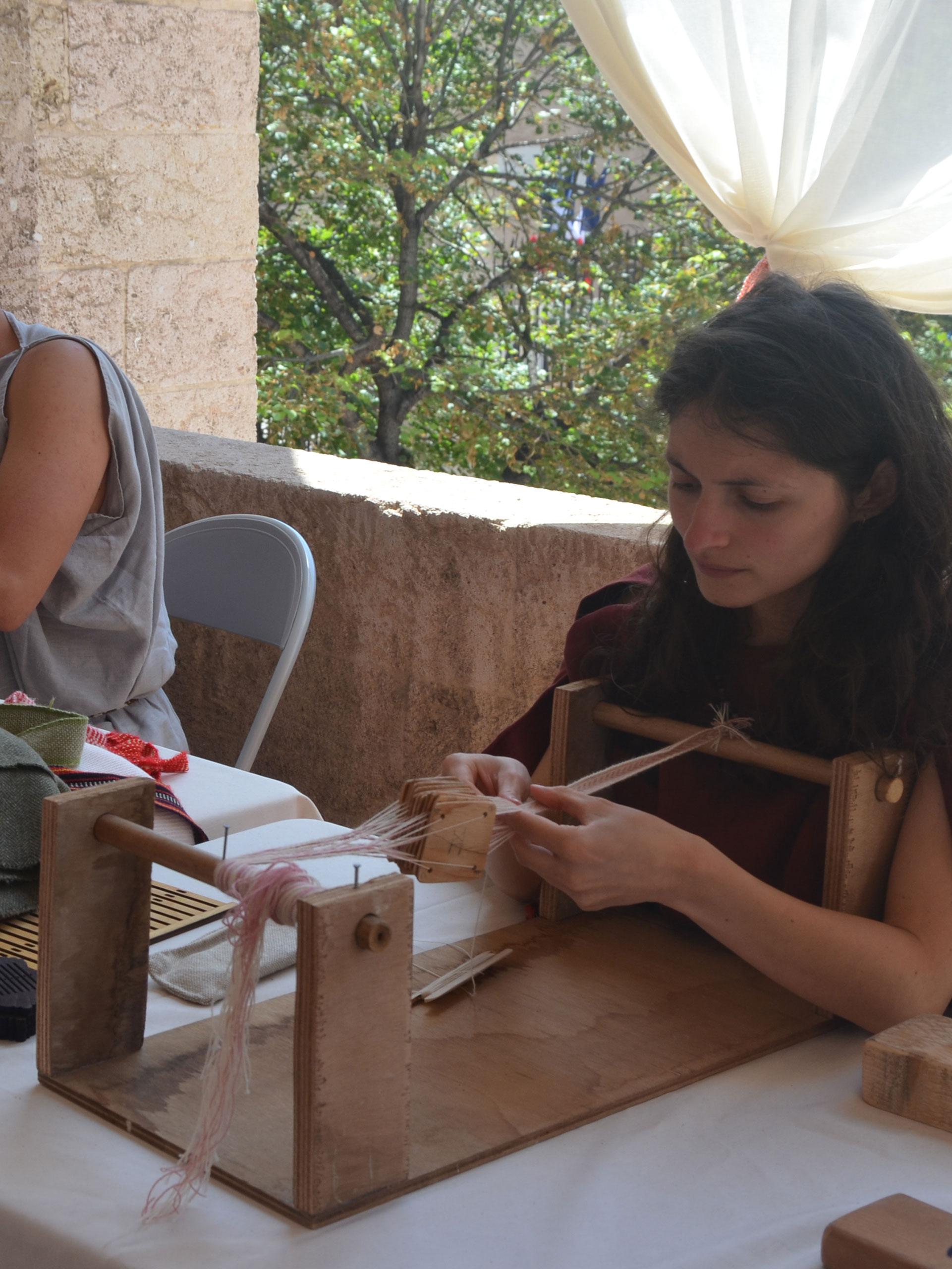 Atelier vêtement et galon