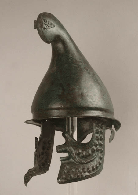 Casque de Sashova mogila, IIIe siècle av., Musée d'histoire de Sofia