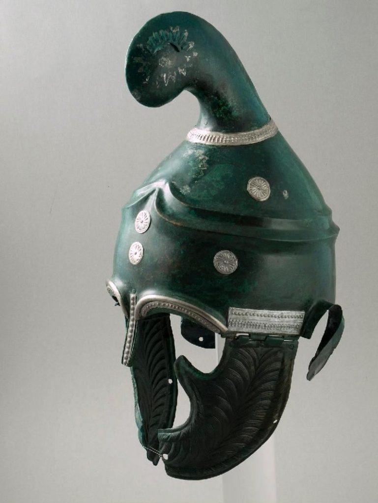 Casque de Pletena, début IVe siècle av., Musée d'histoire de Sofia, Inv. 37325