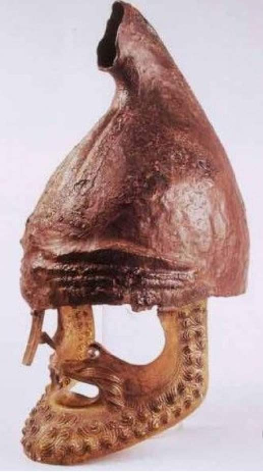 Casque de Blagoevgrad, fin Ve - début IVe siècle av., Musée de Blagoevgrad