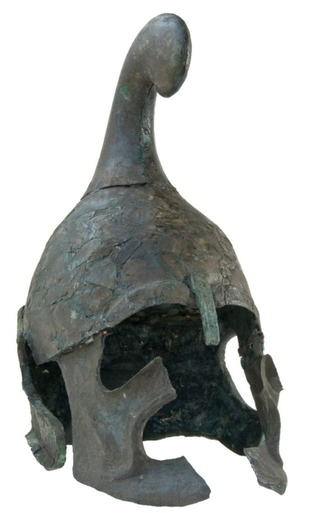 Casque de la collection Vatevi, Romfeya foundation, IIIe siècle av., collection privée, photo tirée du site de Romfeya